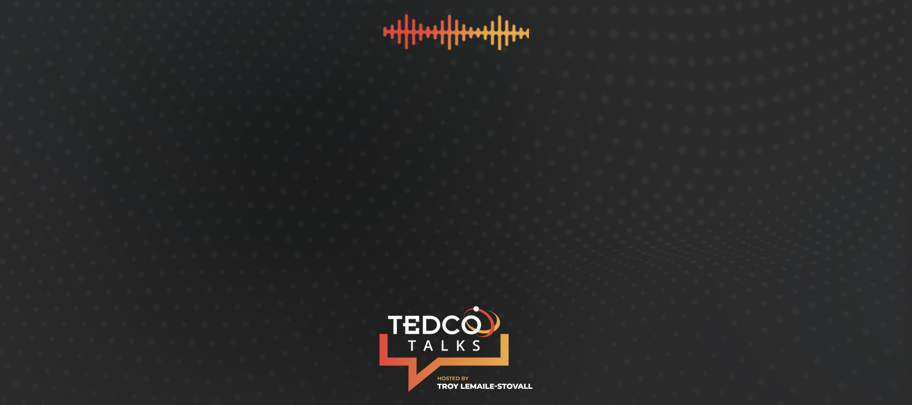 TEDCO Talks logo